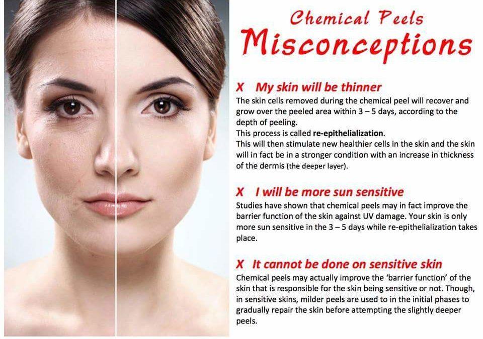 face peels for sensitive skin